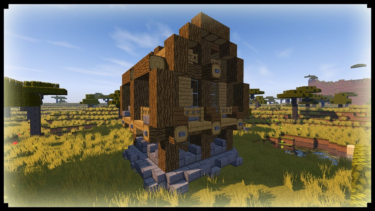 Come costruire un casa medievale facile minecraft best for Piani di casa medievale