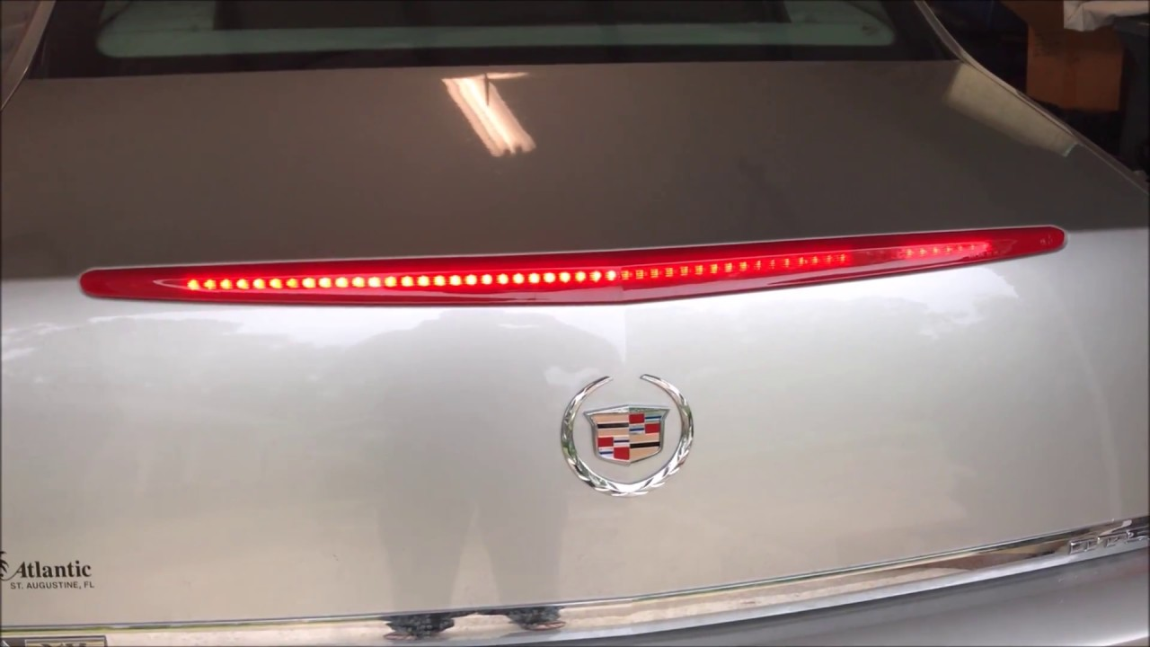 2007 Cadillac Dts 3rd Brake Light Some Lights Out