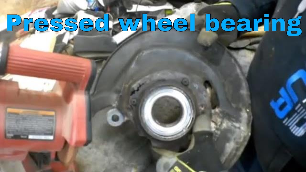 Wheel Bearing Replacement >> Honda Odyssey Pressed Wheel Bearing Replacement