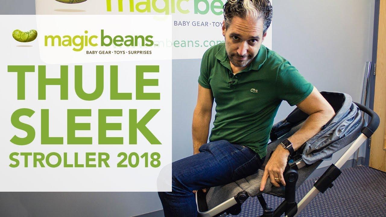 Thule Sleek Stroller 2018 | Single-to-Double Stroller