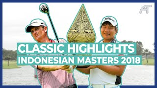 Poom Beats Rose \u0026 Stenson at the Indonesian Masters 2018   Classic Highlights