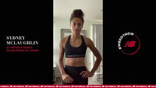 Sydney McLaughlin | #StayHome & Workout #WithMe | New Balance