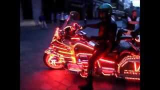 Bike with Neon Lights