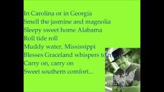 Buddy Jewel- Sweet Southern Comfort (Lyrics)