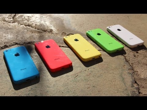 New Iphone 5c Unboxing Lower