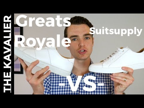 White Sneakers: Greats Royale v Suitsupply | Luxury Leather Sneakers Under $200