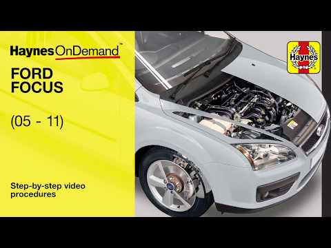 Fix your Ford Focus Petrol (2005- 2011) with Haynes's video tutorials