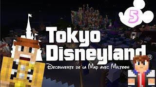 Minecraft | Visite de la Map Tokyo Disneyland par MarblePiggy #5 - [HD]