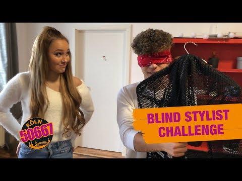 Freddy und Chico stylen Lina und Lucy...BLIND 😂 Blind Stylist Challenge | Köln 50667