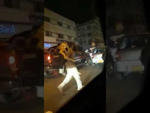 Lion on the roads of Karachi the VIP culture