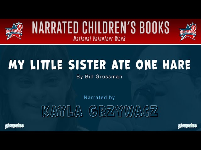 My Little Sister Ate One Hare narrated by Kayla Grzywacz