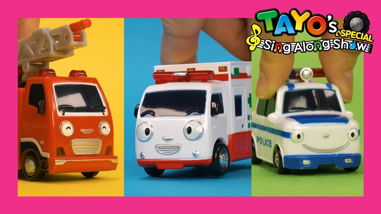 Super Rescue Team Song l The Brave Cars are on the way l Car Songs l Toy Songs l Tayo the Little Bus