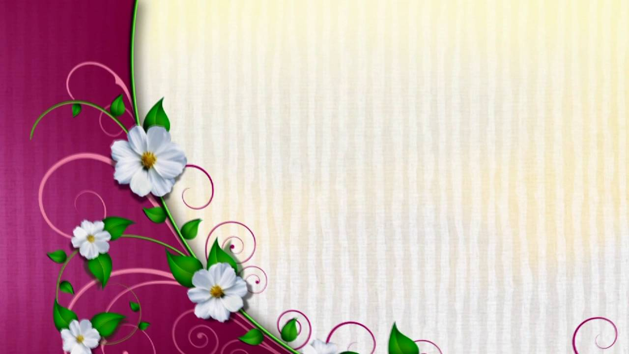 Free Wedding background, Free Hd motion graphics, Download video Animation - VECTOR 008 - YouTube