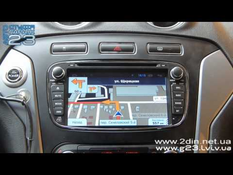 Штатная магнитола Ford Mondeo, Galaxy, Focus, S-Max - RedPower 18003 (Android 4.2.2)