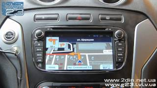 Штатная магнитола Ford Mondeo, Galaxy, Focus, S-Max - RedPower 18003 (Android 4.2.2)(, 2015-06-03T15:10:05.000Z)