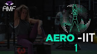 Aero - IIT 1 with Anna - Interval Training Home Workout - 30 minute workout #teamamf