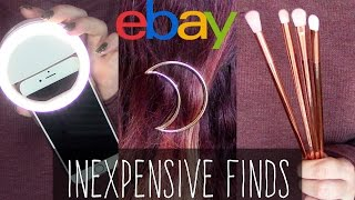 ebay finds collective haul 4 selfie ring light moon hair clips etc