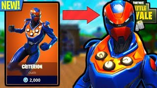 🔴 *NEW* CRITERION SKIN IN ITEM SHOP -- FIRST TIME PLAYING PC (Fortnite Battle Royale On PC)