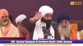New Katha Nihang Baba Banta Singh Munde Pind @ Udasin Braham Akhara Mandi Sahib