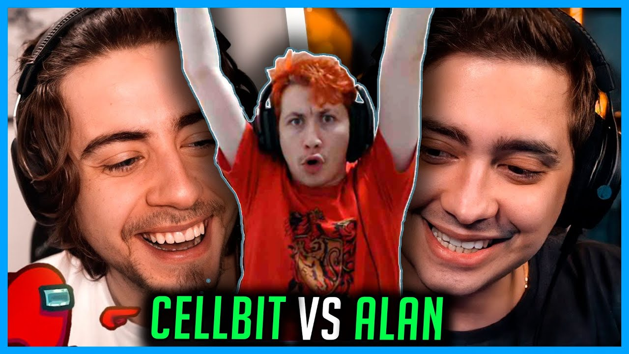 REACT cellbit impostor vs alan inocente