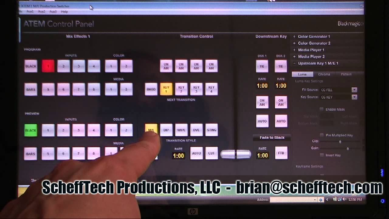 atem production switchers инструкция