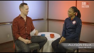 Allyson Felix on what makes her a track and field world champion | Rio Olympics 2016