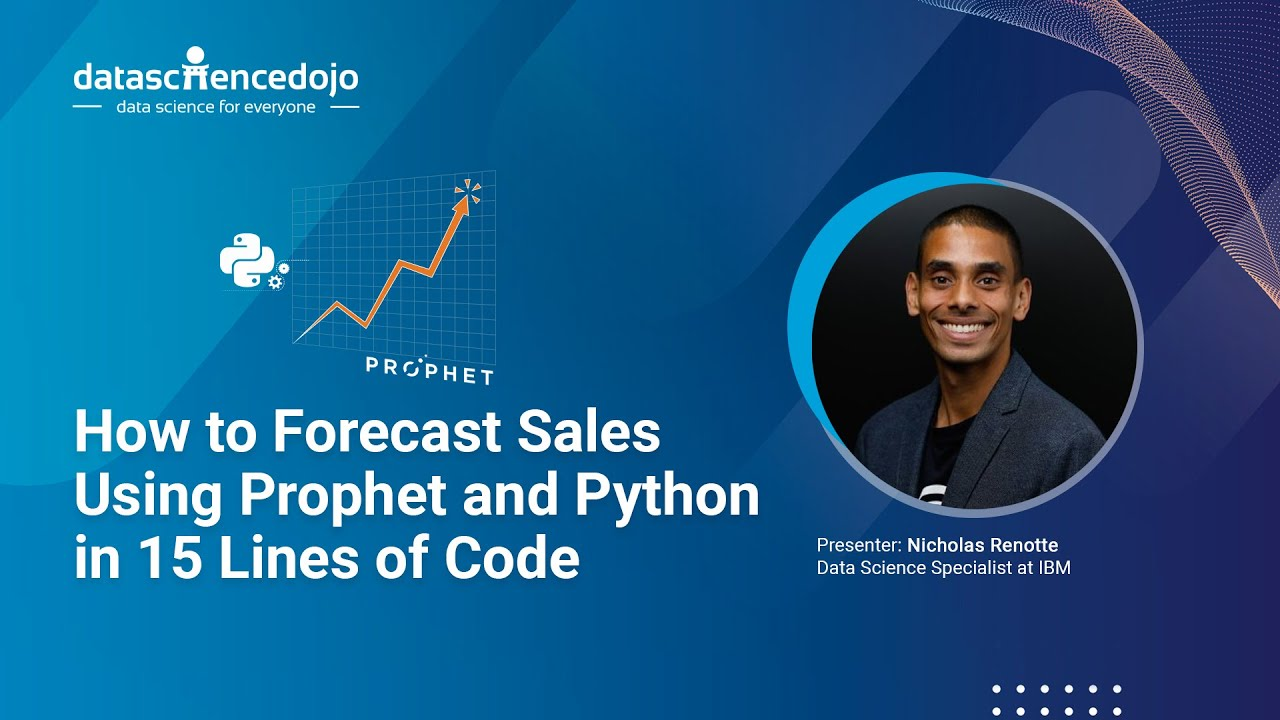 How to Forecast Sales Using Prophet and Python in 15 Lines of Code