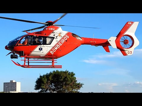 Helicopter Eurocopter EC 135 T2 Take Off Video