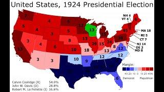 Democratic Party presidential primaries, 1924