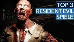 Die 3 besten Resident-Evil-Spiele