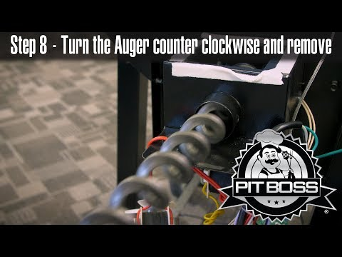How to Clean or Replace any Pit Boss Auger | Pit Boss Pit Stops