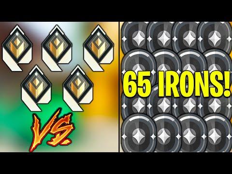 Valorant: 5 Radiant Vs 65 Iron Players - Who Wins?