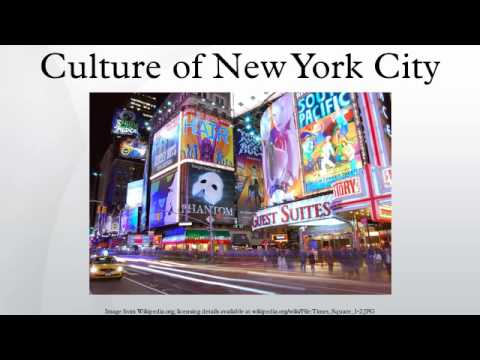 Culture of New York City