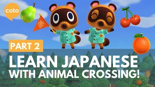 Characters and vocabulary - Learn Japanese with Animal Crossing! - Part 2