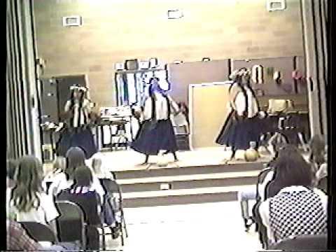 Hawaiian Dancing--Big Water School 1998