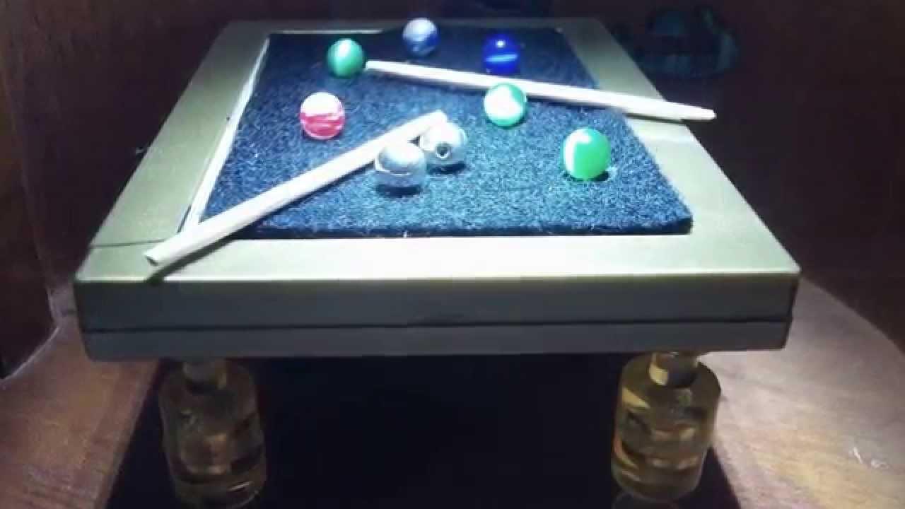 POOL ROOM DECOR Check Out Handmade Pool Table YouTube - Handmade pool table