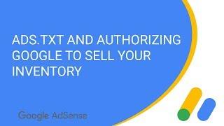 Ads.txt ve yetki Google envanter satmak için