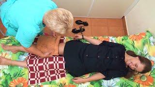 Санаторий Приморский - обзор процедуры грязелечение (парафиновые аппликации), Санатории Беларуси