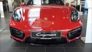 2015 Porsche Cayman GTS 340 Hp 285 Km/h 177 mph * see also Playlist