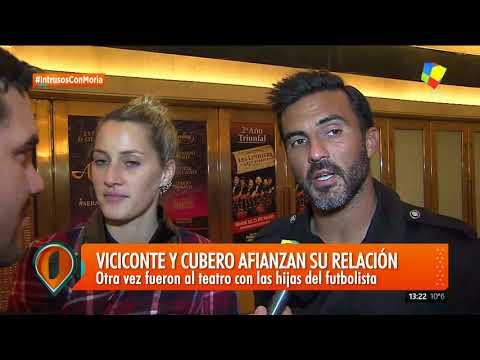 Mica Viciconte y Fabián Cubero afianzan su relación