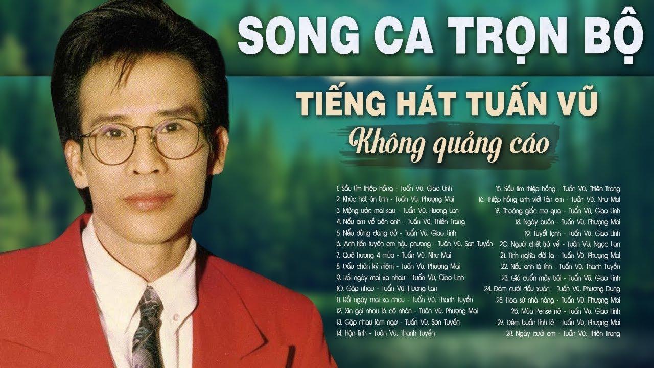 TUẤN VŨ, GIAO LINH, HƯƠNG LAN, SƠN TUYỀN, PHƯỢNG MAI, NHƯ MAI, THANH TUYỀN – Song Ca Bolero Trọn Bộ