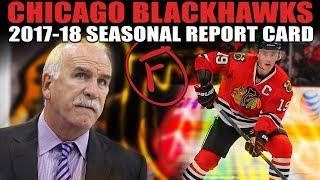 Chicago Blackhawks Seasonal Report Card (2017-18)