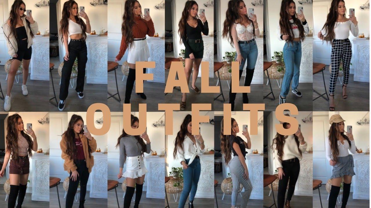 16 Fall Outfit Ideas | viviannnv 2
