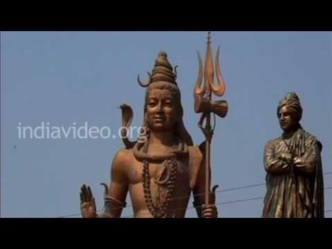 Lord Shiva statue in Haridwar, Uttarakhand