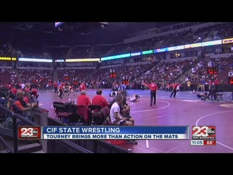 CIF Wrestling Championship heats up Bakersfield business