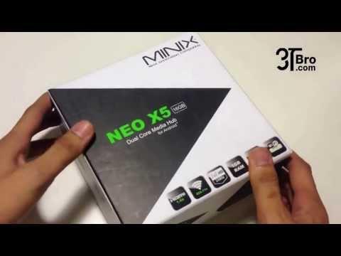 TV Android Minix neo x5 ทีวีแอนดรอย รีวิว Review ตัวเครื่อง by 3tbro.com