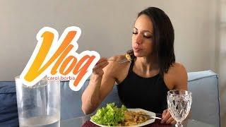 Minha alimentação diária - Vlog#03 - Carol Borba