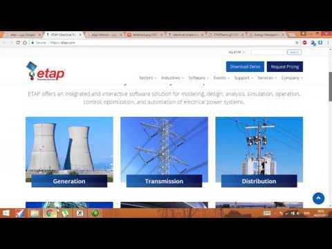 Hướng dẫn sử dụng phần mềm ETAP