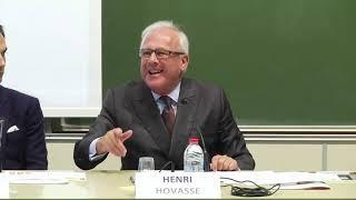 """04/10 Colloque CRJP """"De la gestion du patrimoine à l'ingénierie du patrimoine"""" : Henri Hovasse"""