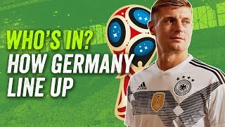 No Sané, no Goretzka- How Germany will line up at the 2018 World Cup in Russia